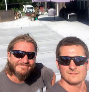 Kjetil Svendsen og Robert Svendsen